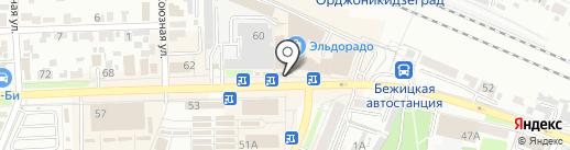 Быстроденьги на карте Брянска