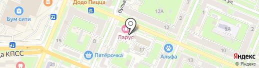 Coffee And Tea на карте Брянска