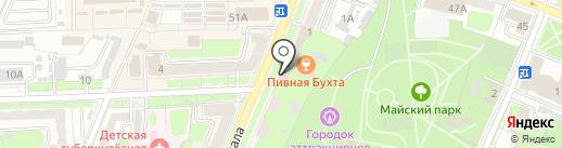 Восточный экспресс банк, ПАО на карте Брянска