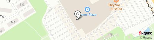 Мираж Синема на карте Петрозаводска