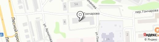 Карельская лифтовая компания на карте Петрозаводска