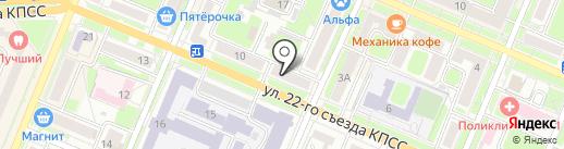 PRO-хвост на карте Брянска