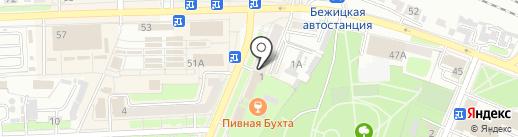 Магазин мотозапчастей на карте Брянска