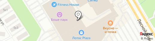 Школьный кошелек на карте Петрозаводска