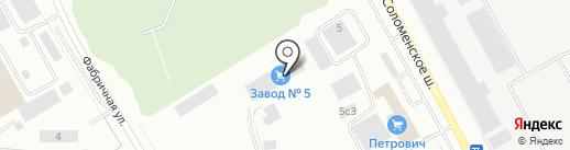 Дамп Тракс на карте Петрозаводска