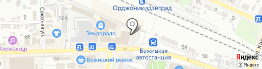 Меховой шик на карте Брянска