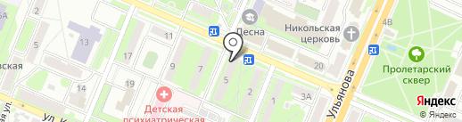 Салон-парикмахерская на карте Брянска
