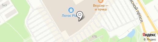 Сладости-Радости на карте Петрозаводска