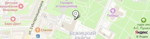Оркестр народных инструментов на карте Брянска