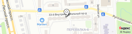 Ветеран на карте Петрозаводска