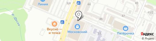 Бусинка на карте Брянска
