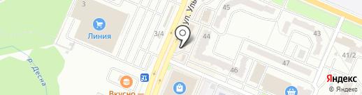 Новоселье на карте Брянска