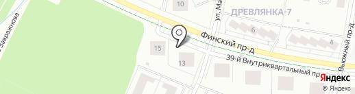 КСМ-Недвижимость на карте Петрозаводска