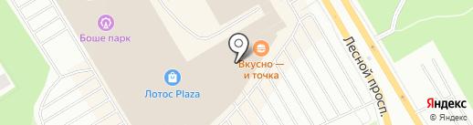 Tele2 Петрозаводск на карте Петрозаводска