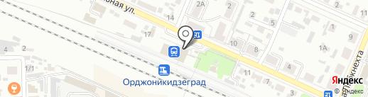 Орджоникидзеград, железнодорожная станция на карте Брянска