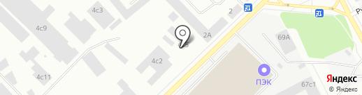 Автоключ на карте Петрозаводска