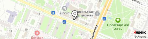ТрансНик на карте Брянска