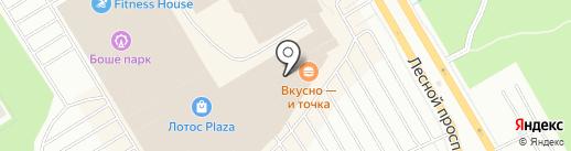 Yota на карте Петрозаводска