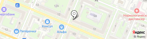 Manoukian на карте Брянска