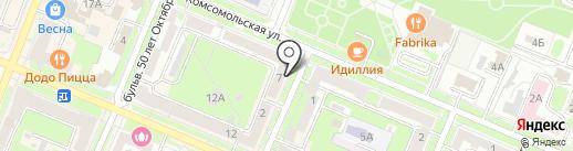 Стоматологический кабинет на карте Брянска