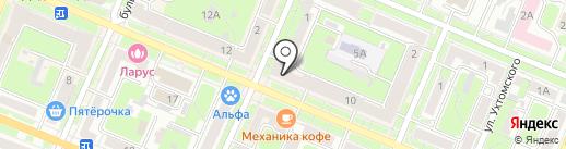 Груз-Брянск на карте Брянска
