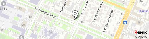 Отделение надзорной деятельности на карте Брянска