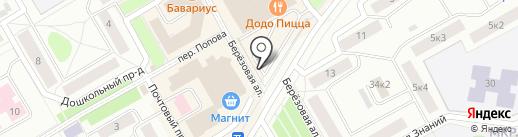 Автосалон у Находки на карте Петрозаводска
