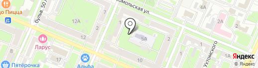 Предприятие-Сельбыт на карте Брянска