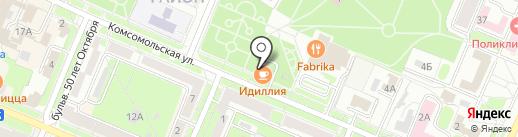 Oppozit на карте Брянска