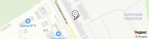 Хорошая баня на карте Петрозаводска