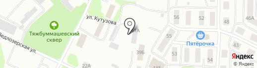 Пансионат для пожилых людей на карте Петрозаводска