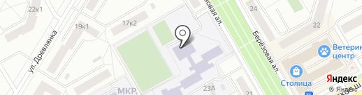 Вираж на карте Петрозаводска