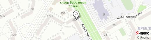 Розалия на карте Петрозаводска