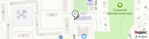 На зеленой на карте Петрозаводска