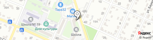 Почтовое отделение №16 на карте Брянска