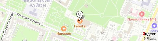 Burda на карте Брянска