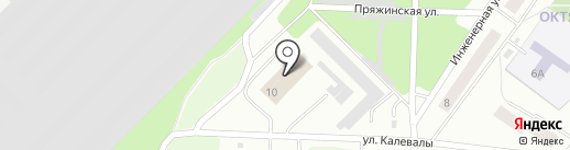1 отряд ФПС по Республике Карелия на карте Петрозаводска