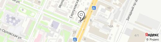 Центр проката инструментов на карте Брянска