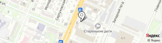 Компания по производству корпусной мебели на карте Брянска