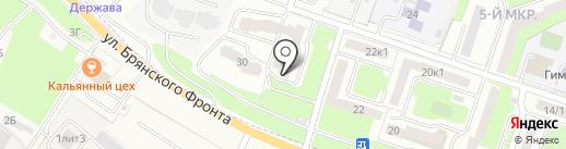 Служба заказа эвакуатора на карте Брянска