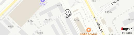 НФС на карте Петрозаводска