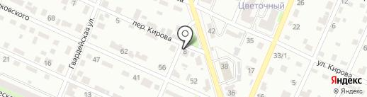 Академия чистоты на карте Брянска