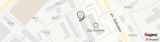 Компания Вектор-РК на карте Петрозаводска