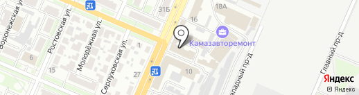 ТрансКом на карте Брянска