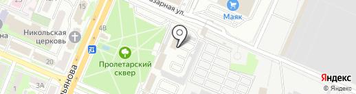 Федеральная Почтовая Служба на карте Брянска