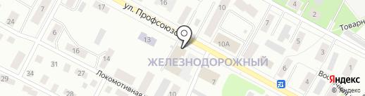 Дельта-Престиж на карте Петрозаводска