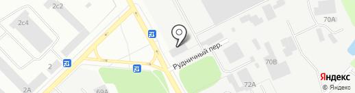 ПРОФСПЕЦРЕСУРС на карте Петрозаводска