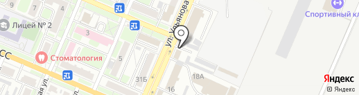 Отдел вневедомственной охраны по г. Брянску на карте Брянска