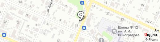 Магазин стройматериалов на карте Брянска