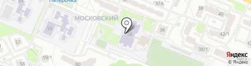 Гимназия №5 на карте Брянска